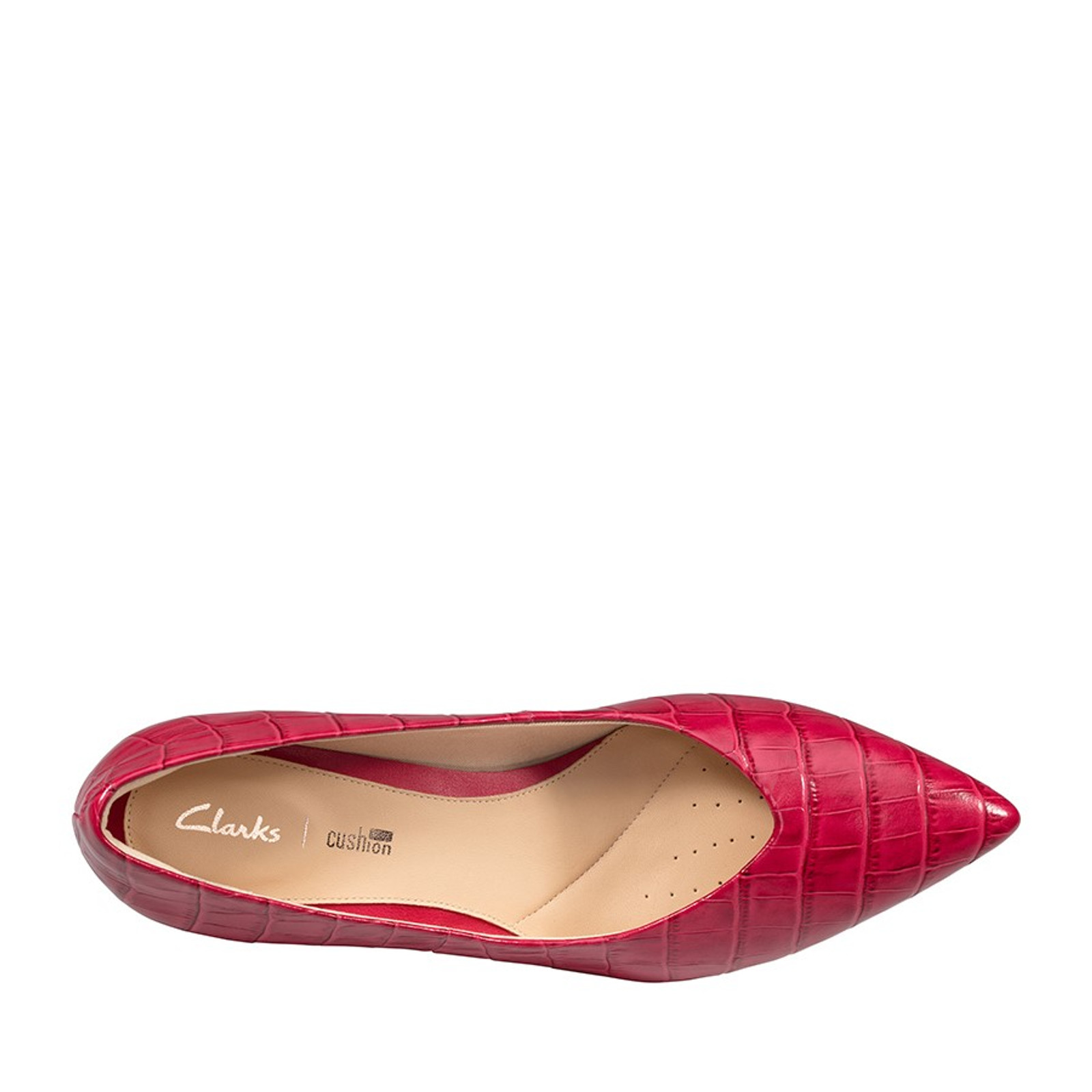 Clarks Womens LAINA55 COURT Fuschia