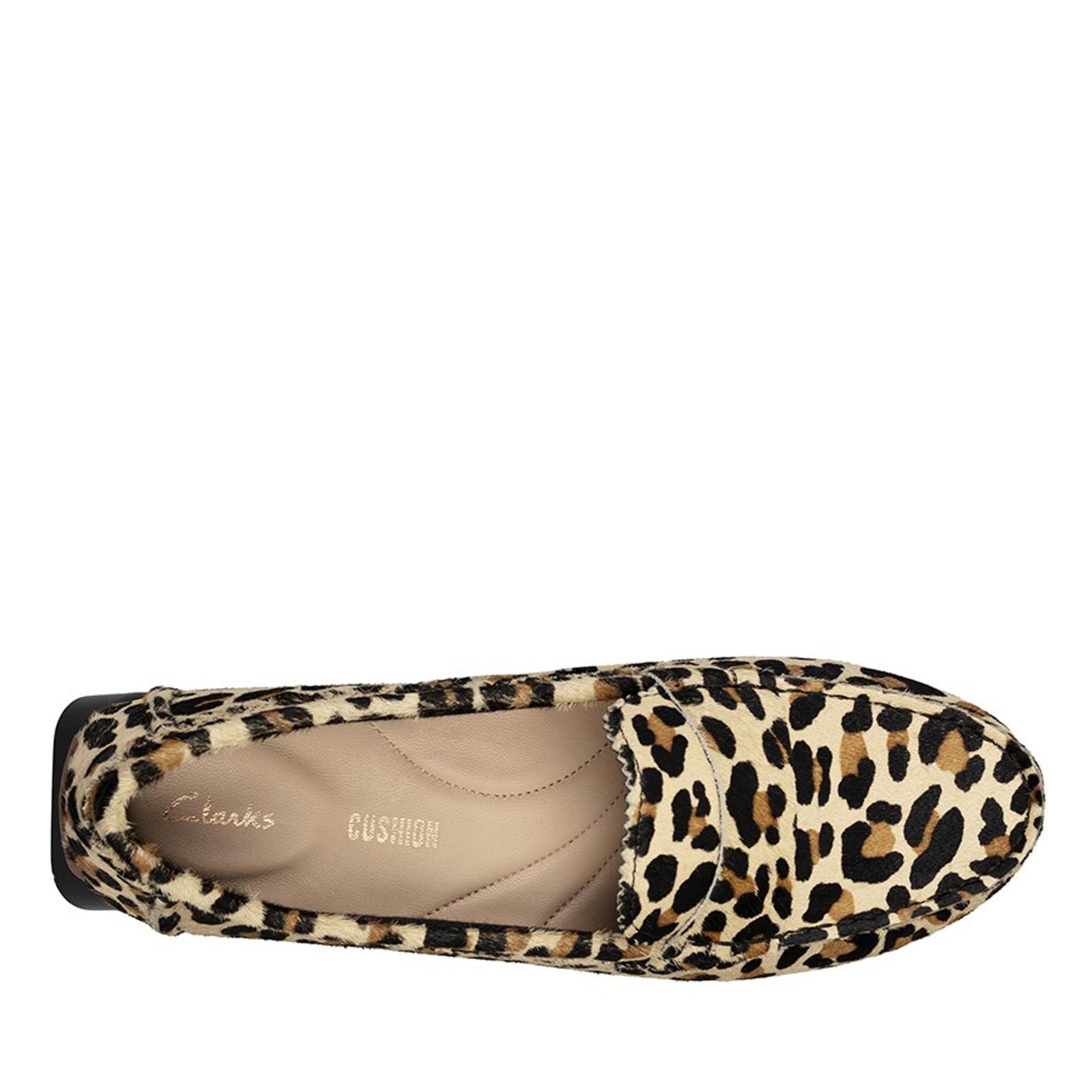 Clarks Womens C MOCC Leopard