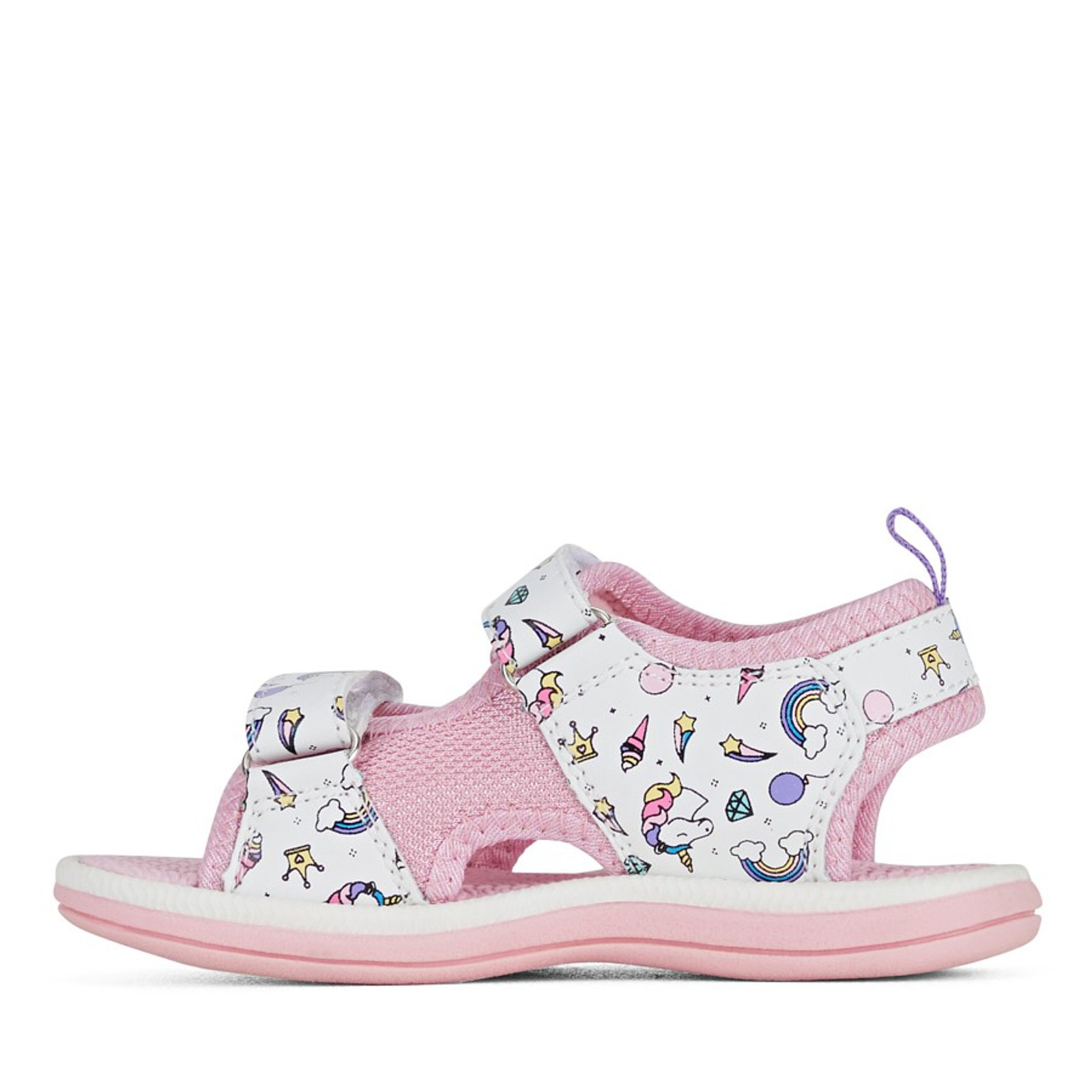 Clarks Girls FRIDA White/Pink