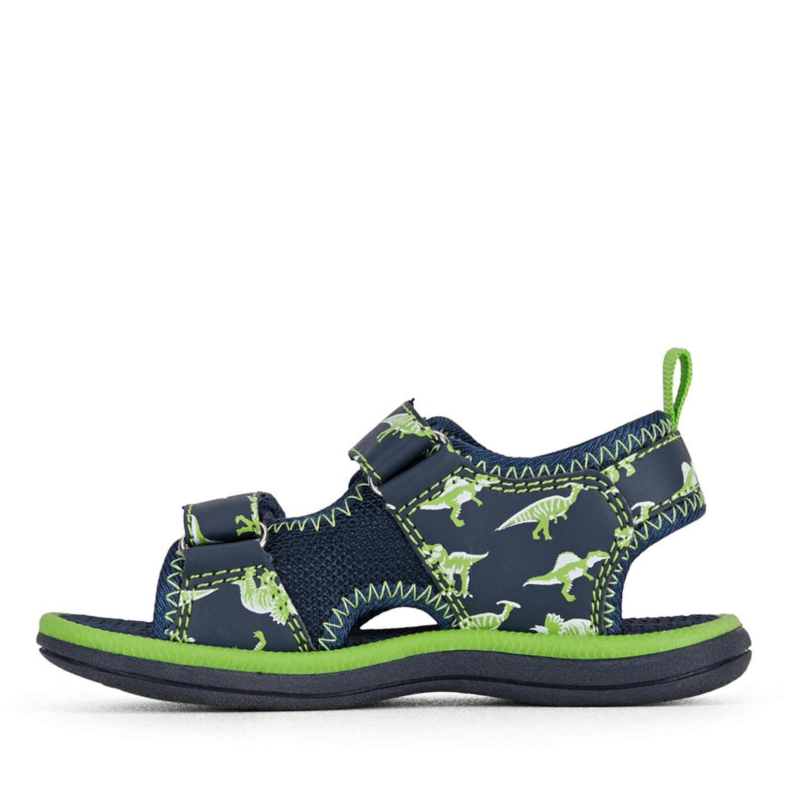 Clarks Boys FRED Navy/Lime