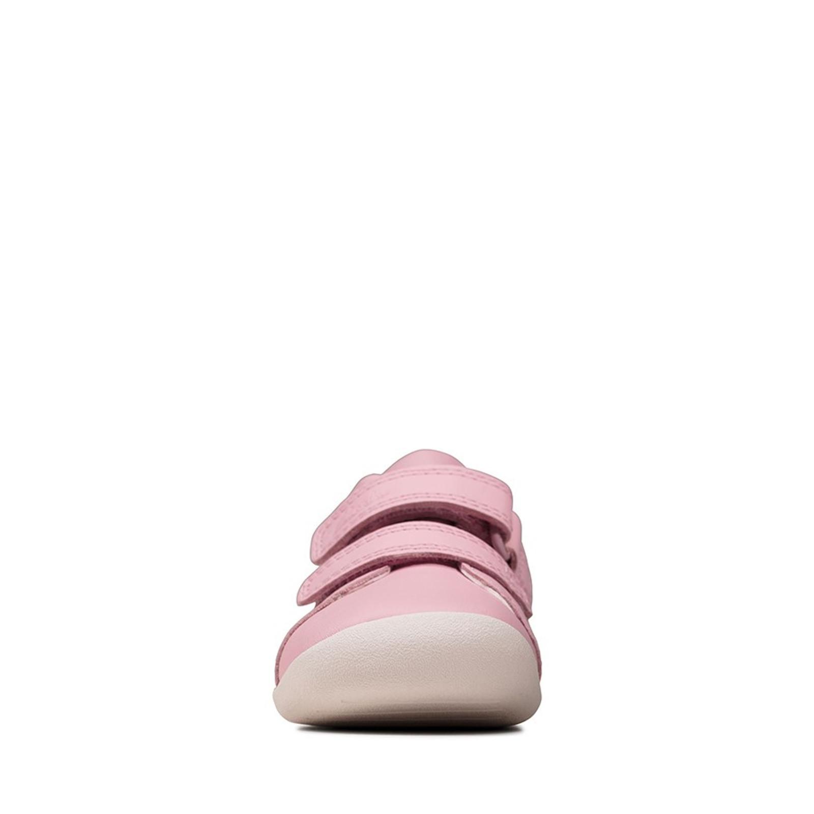 Clarks UnisexChildren ROAMER CRAFT T Pink Leather