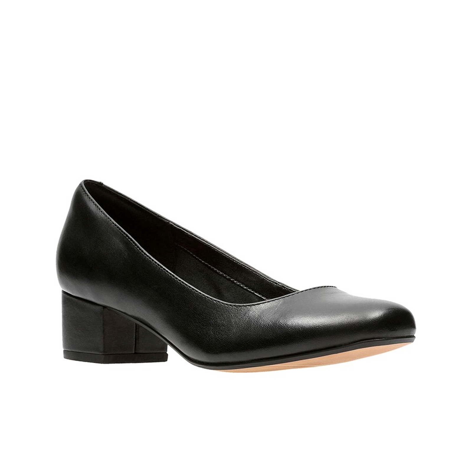 Chartli Rose Black Leather By Clarks
