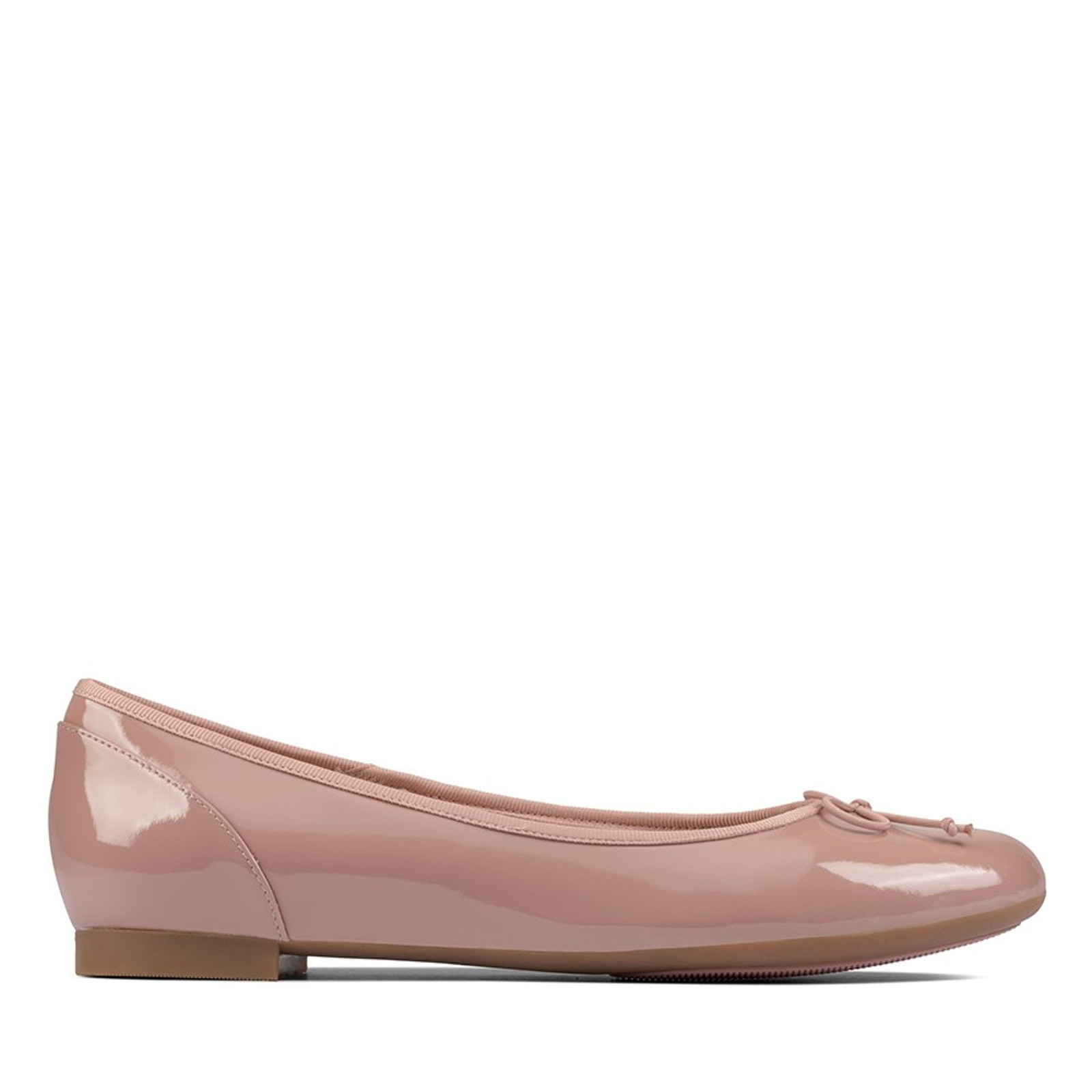Clarks Womens COUTURE BLOOM Rose Patent
