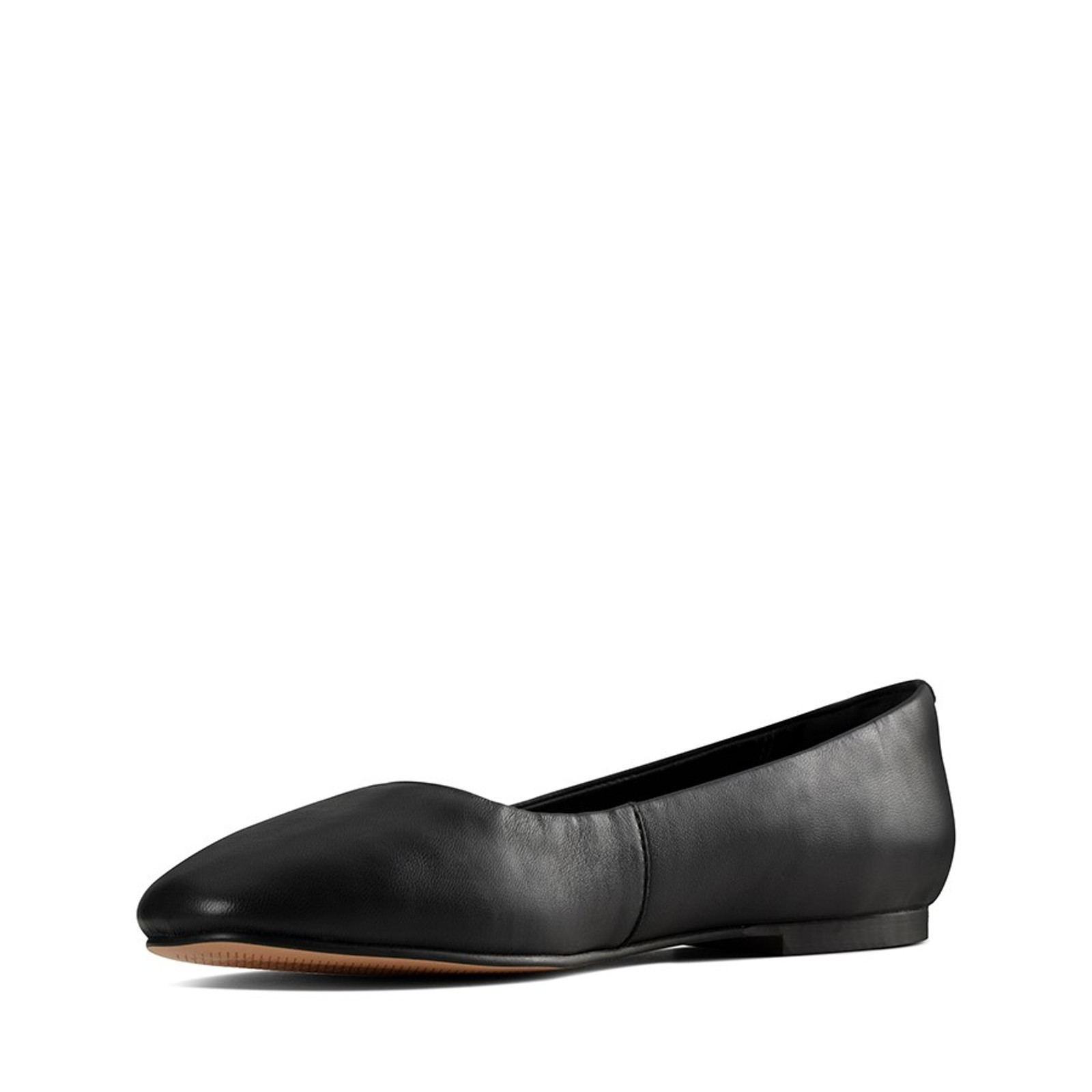 Clarks Womens PURE2 PUMP Black Leather