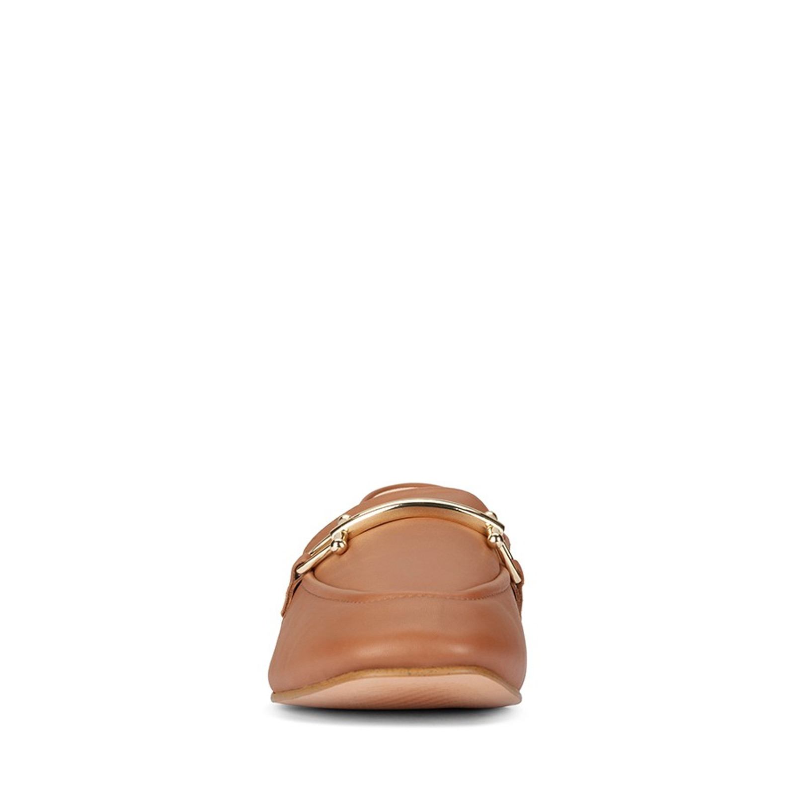 Clarks Womens PURE2 LOAFER Dark Tan Leather