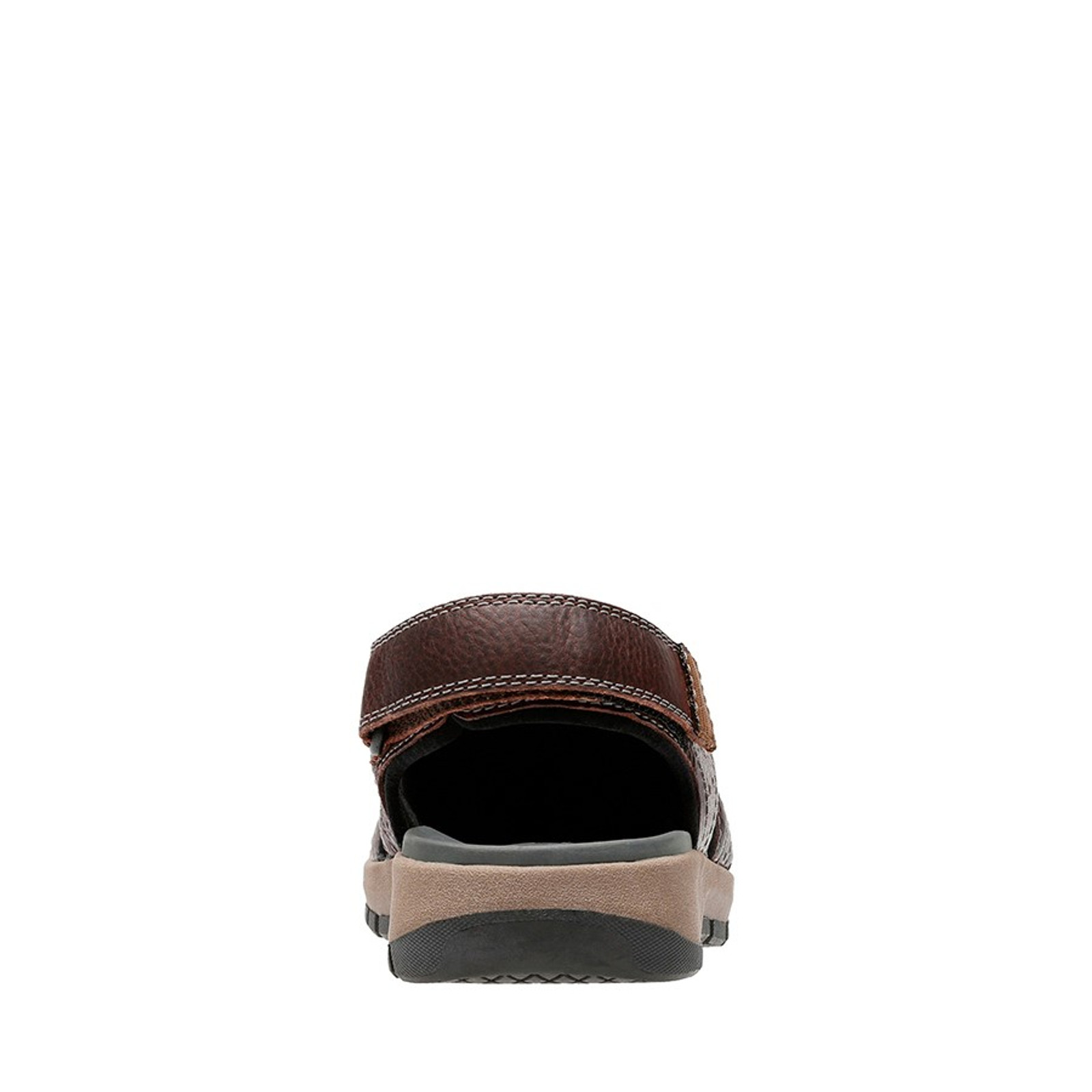 Clarks Mens BRIXBY COVE Dark Brown Leather
