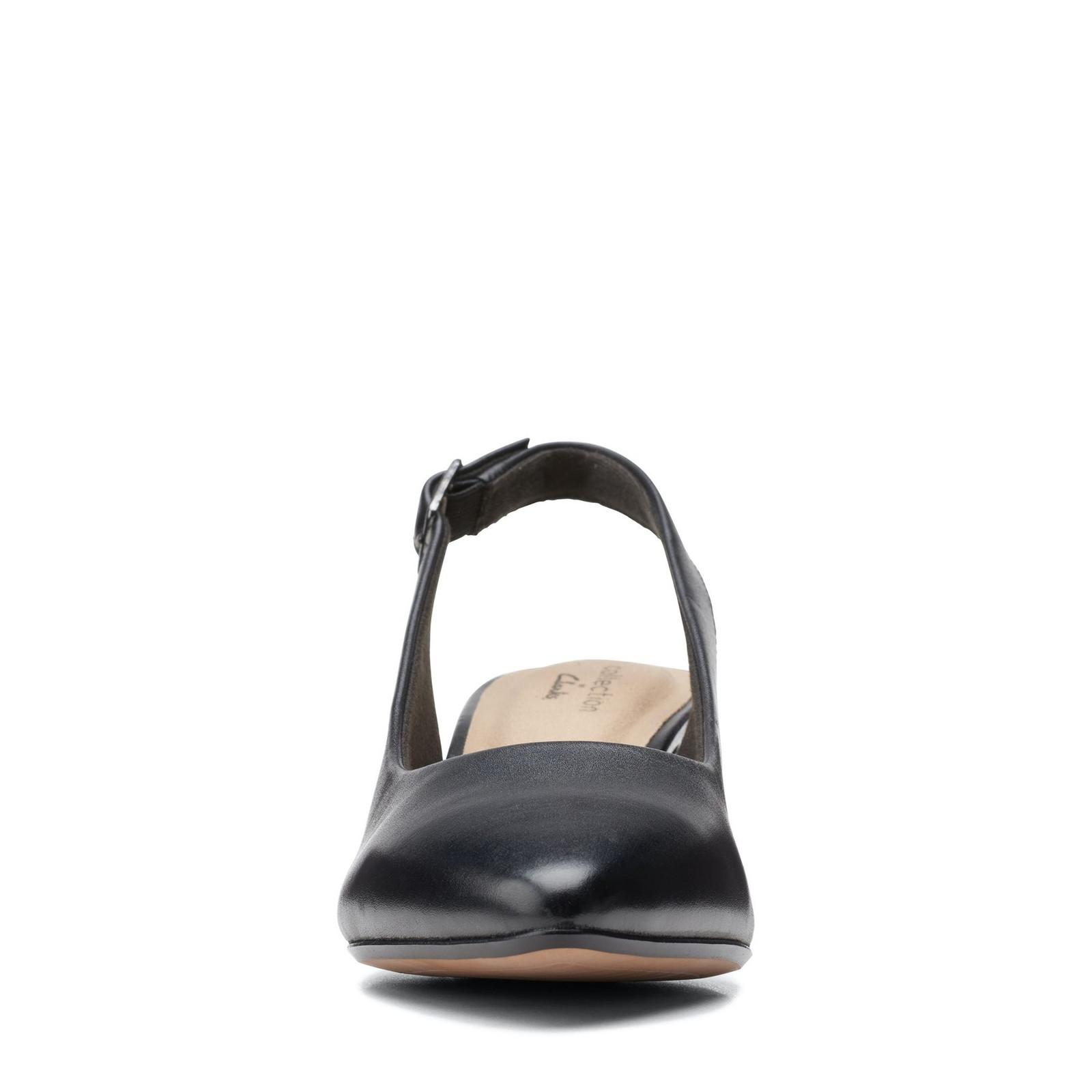 Clarks Womens LINVALE SONDRA Black Leather