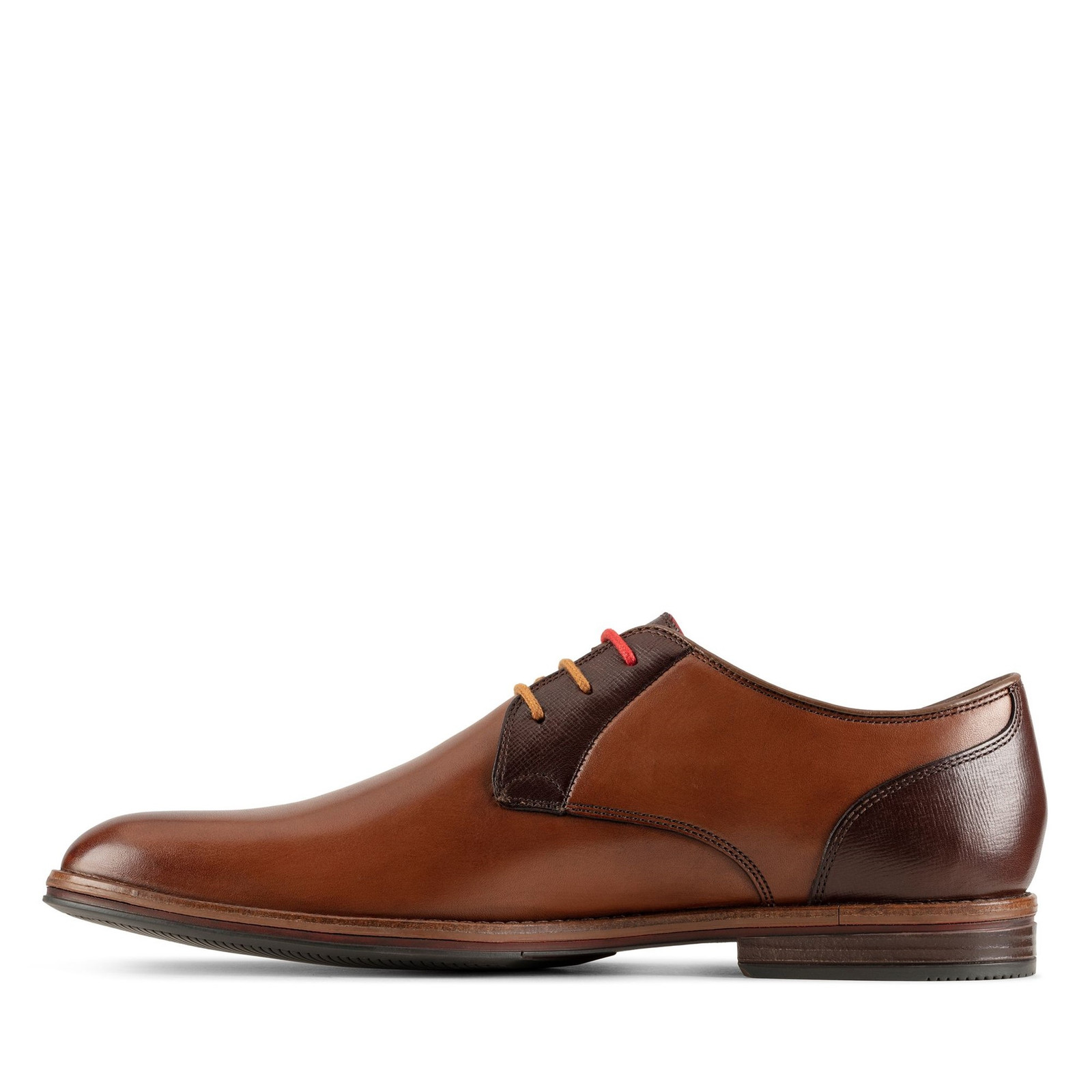 Clarks Mens CITISTRIDE LACE Tan Combo