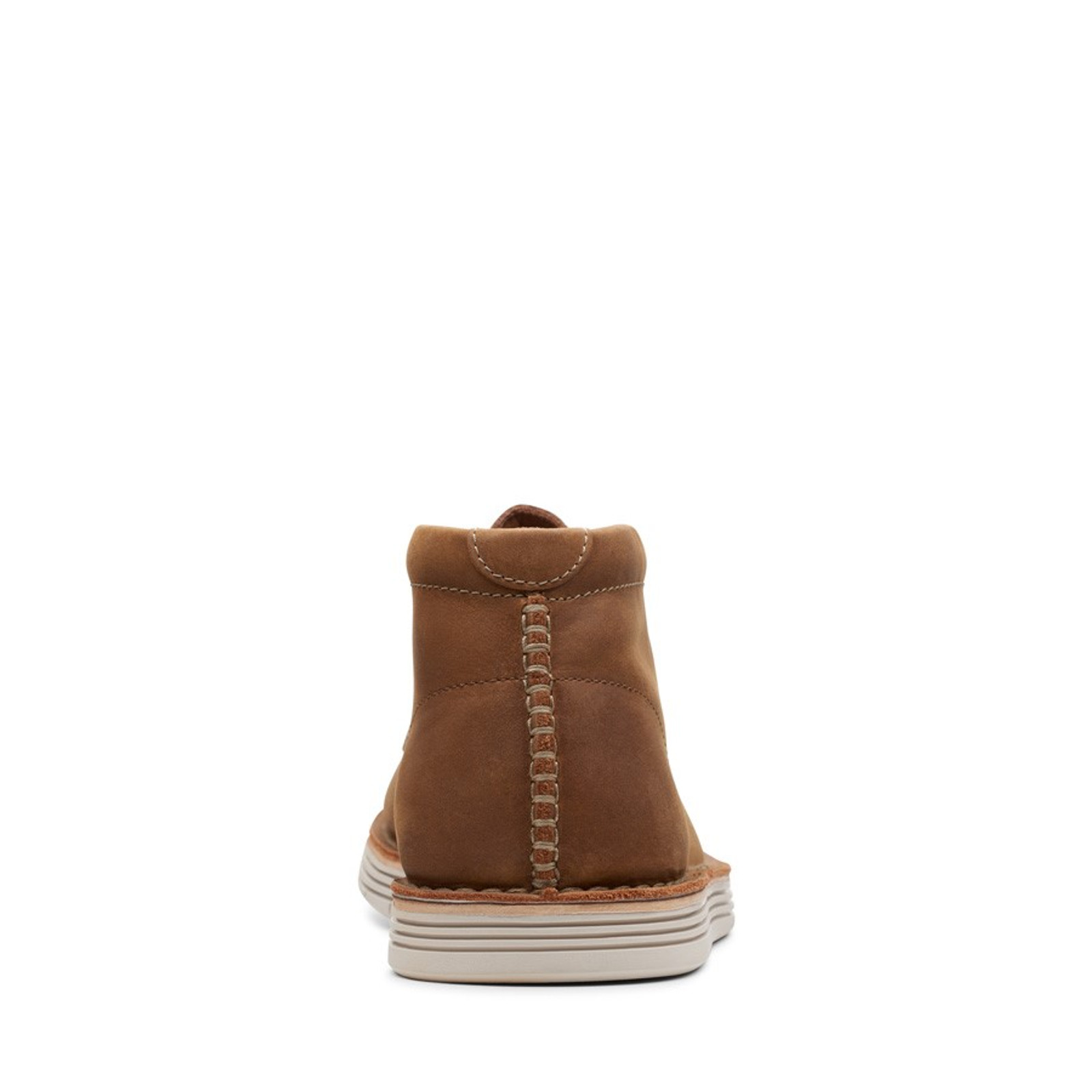 Clarks Mens FORGE STRIDE Tan Leather