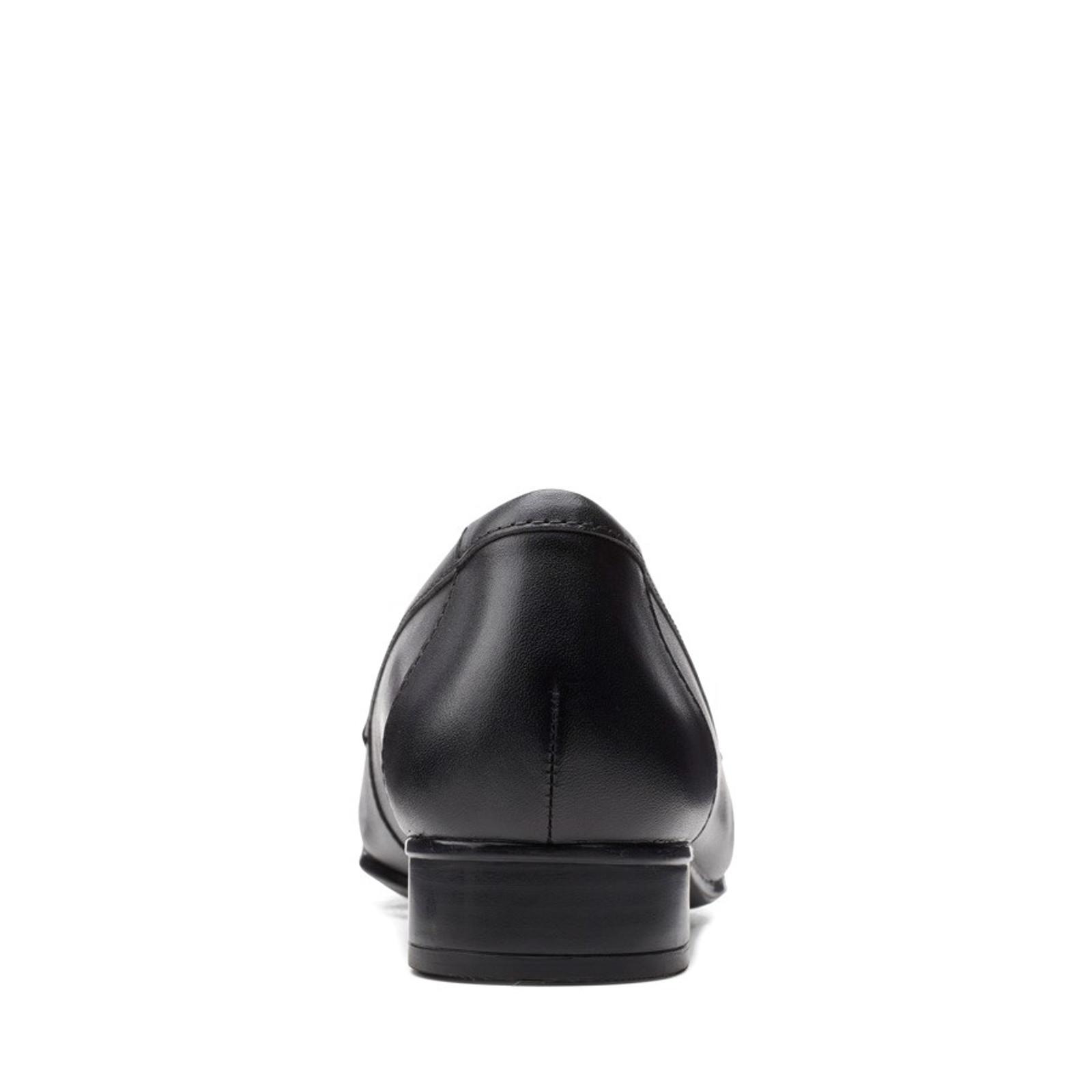 Clarks Womens JULIET COAST Black Leather