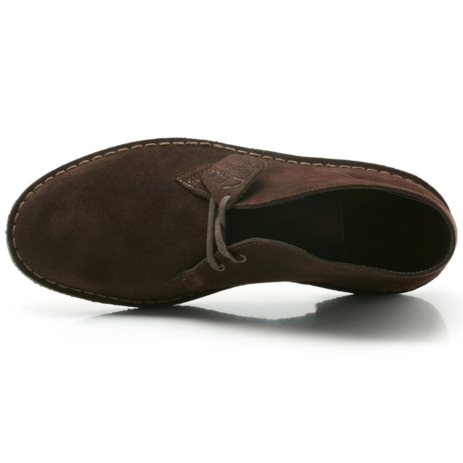 Clarks Mens DESERTBOOT MENS Brown Suede