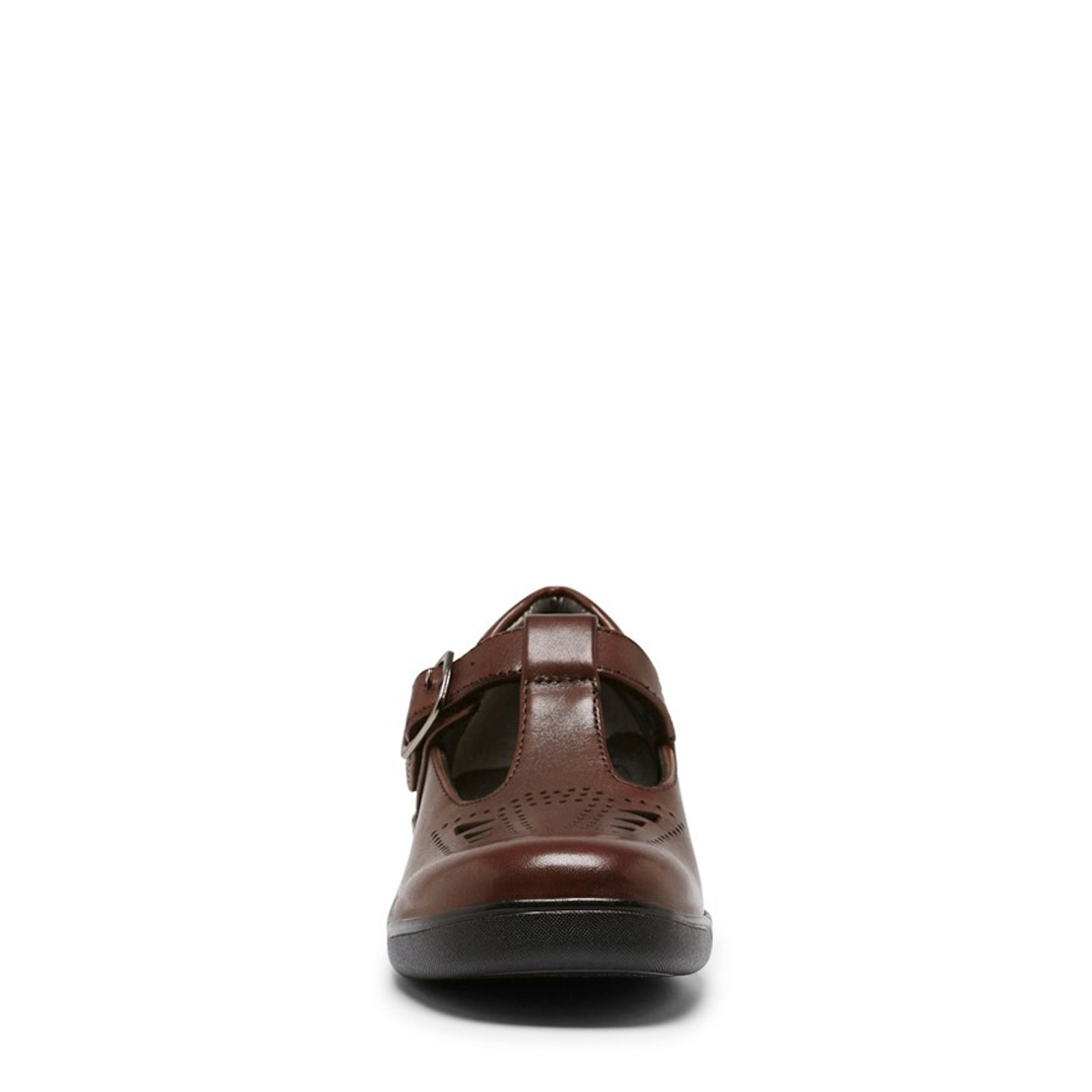 Clarks Girls PUPIL Brown