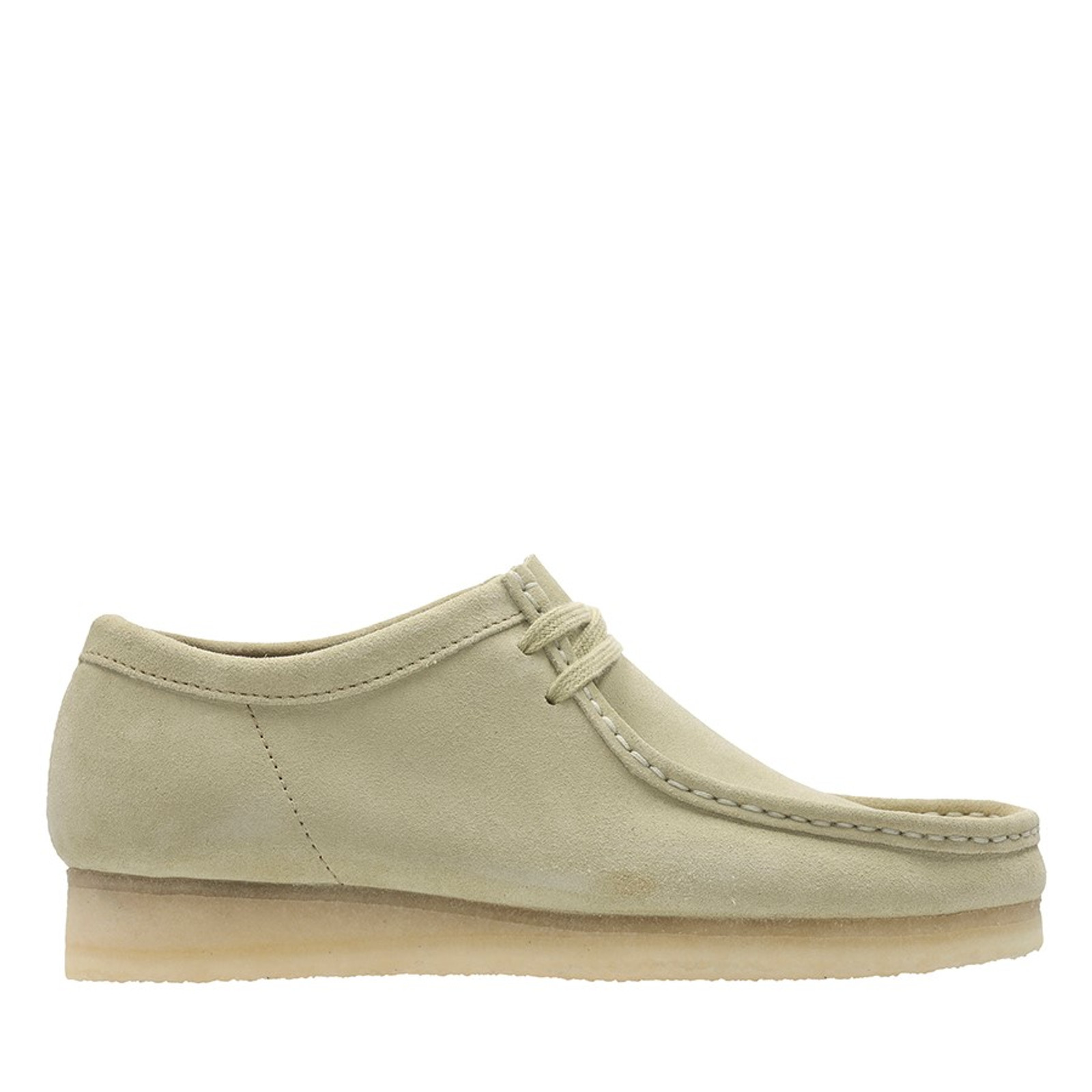 Clarks Mens WALLABEE (M) Maple Suede