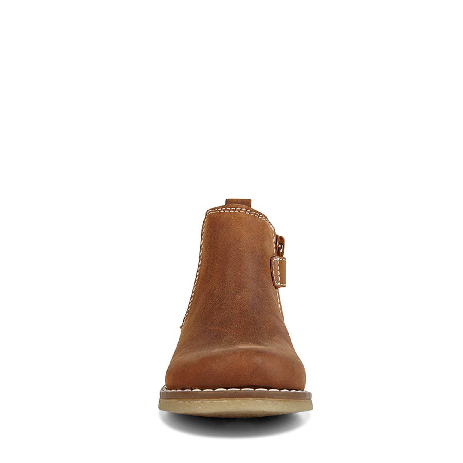 Clarks UnisexChildren CHELSEA INFANT Tan Crazy Horse