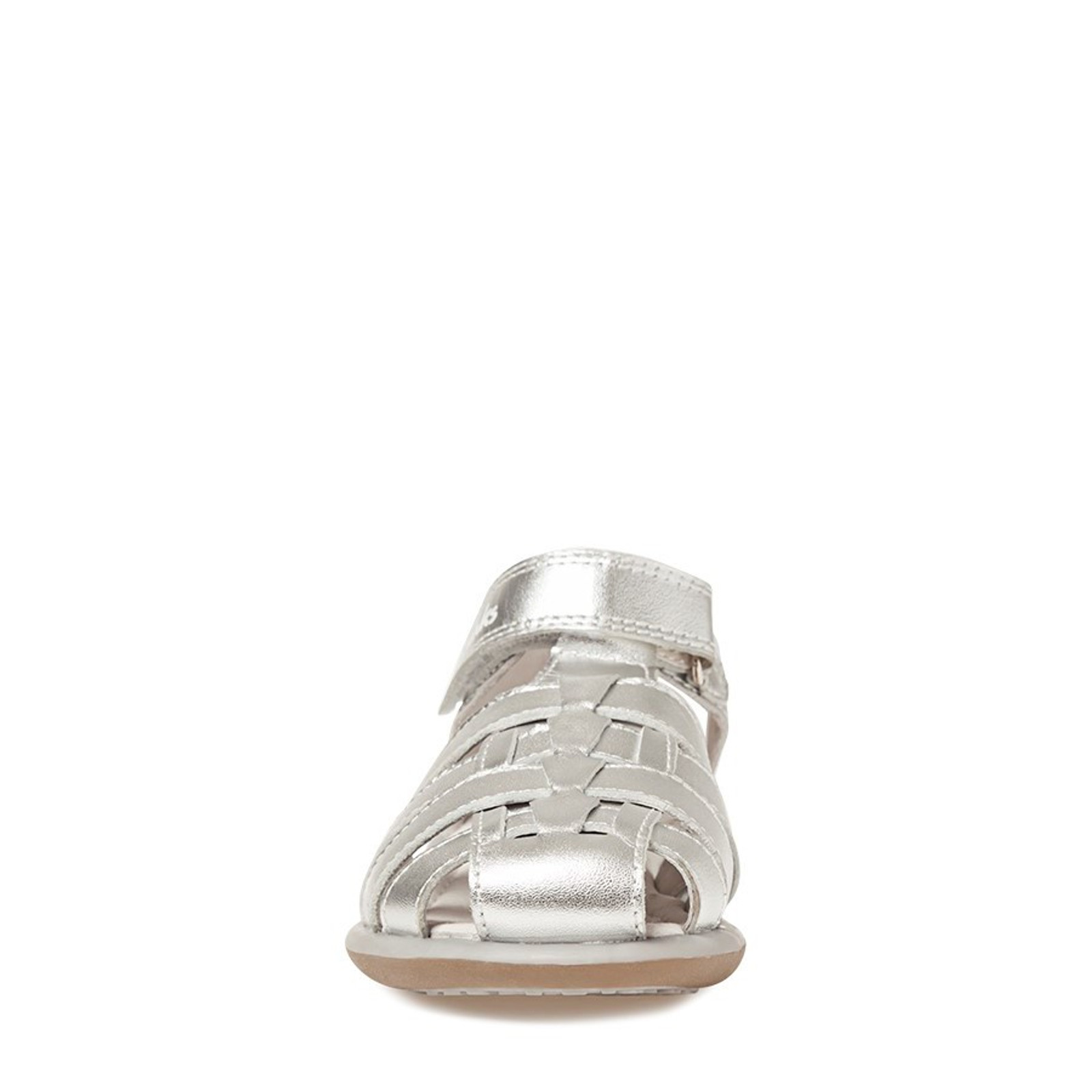 Clarks Girls PIPER Silver