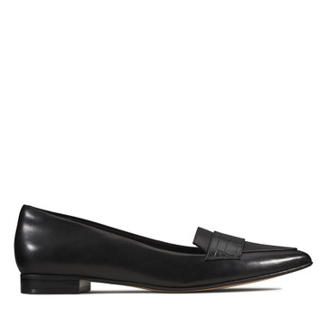 Clarks Laina15 Loafer Black Combo