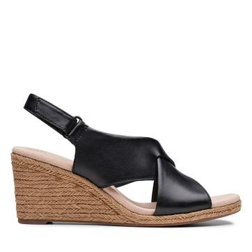 Clarks Lafley Alaine Black Leather