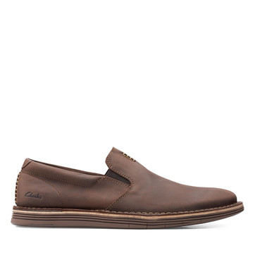Clarks Forge Free Dark Brown Leather