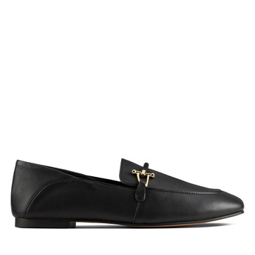Clarks Pure2 Loafer Black Leather