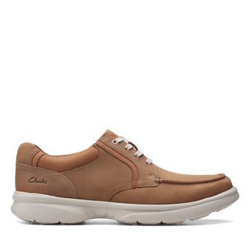 Clarks Bradley Vibe Tan Leather