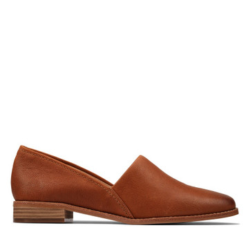 Clarks Pure Easy Tan Leather
