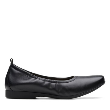 Clarks Un Darcey Vibe Black Leather