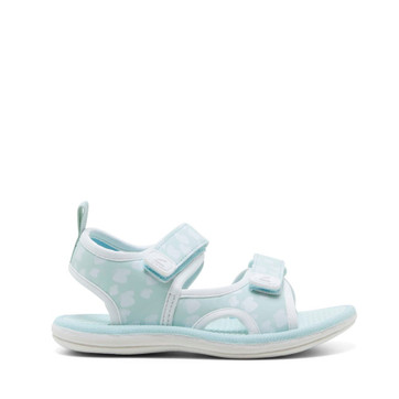 Clarks Florence Mint/White Butterfly