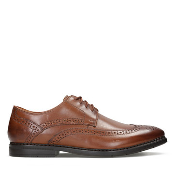 Clarks Banbury Limit British Tan Leather
