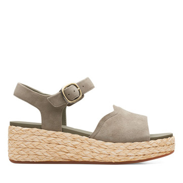 Clarks Kimmei Way Olive Suede