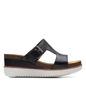 Clarks Lizby Ease Black Leather
