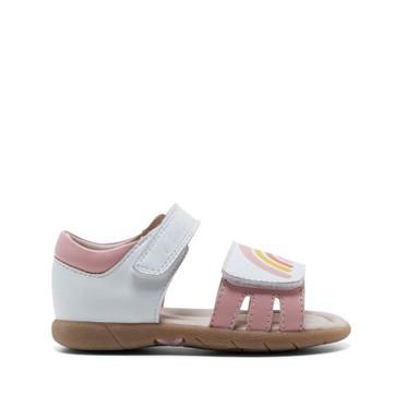 Clarks Sabella White/Pink