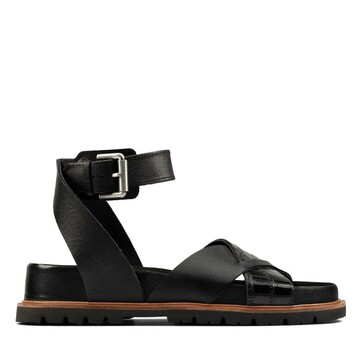 Clarks Orianna Cross Black Combo Leather