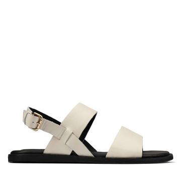 Clarks Karsea Strap White Leather