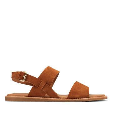 Clarks Karsea Strap Tan Leather