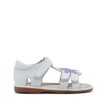 Clarks Calypso White/Glitter