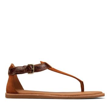 Clarks Karsea Post Tan Leather