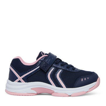 Clarks Ace Navy/Pink