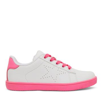 Clarks Rani Ii White/Neon Pink