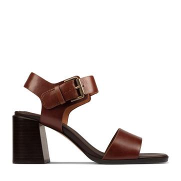 Clarks Landra70 Strap Tan Leather