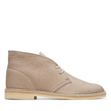 Clarks Desert Boot (M) Sand Leather