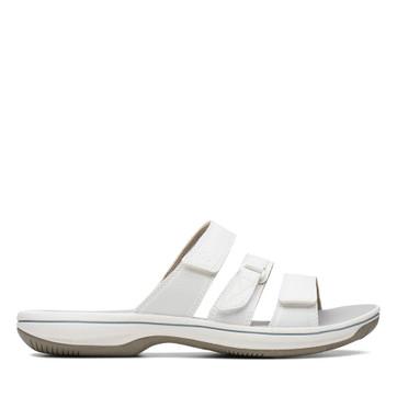 Clarks Brinkley Coast White Synthetic