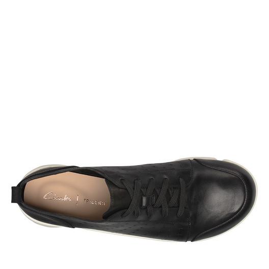 Clarks Womens TRIAMELIA EDGE Black Leather