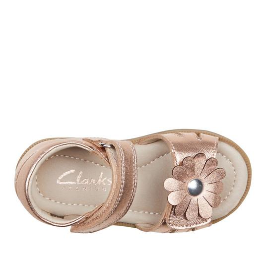Clarks Girls Callie Rose Gold