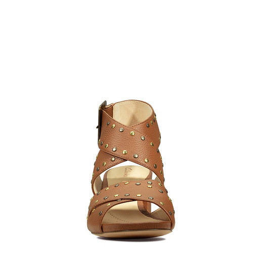 Clarks Womens Sheer55 Buckle Tan Leather