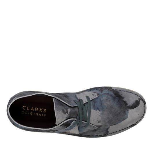 Clarks Mens DESERT COAL Blue Camo