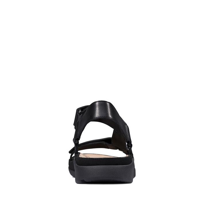 Clarks Womens TRI SPORTY Black Leather