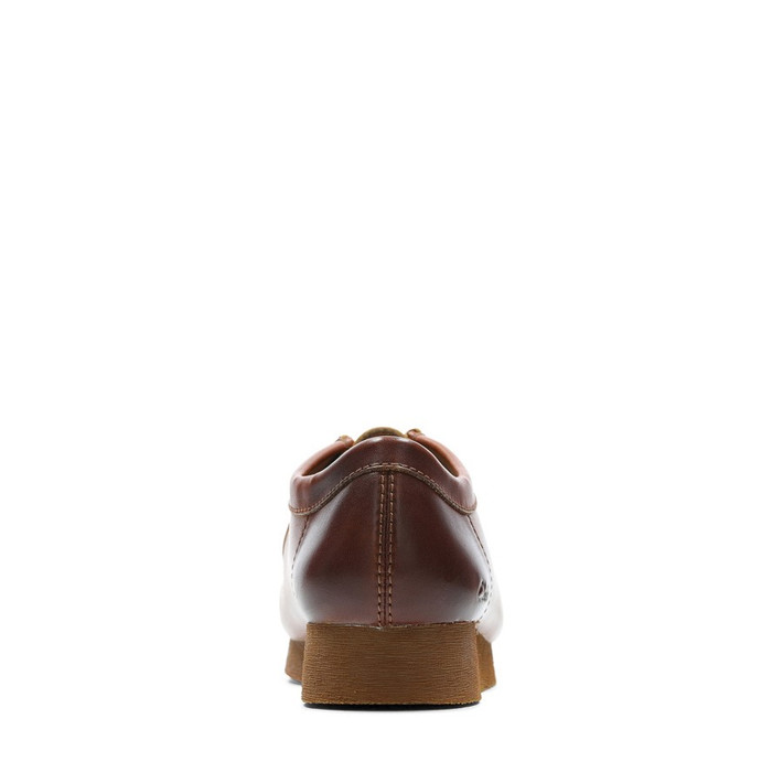Clarks Mens WALLABEE 2 Light Tan Leather