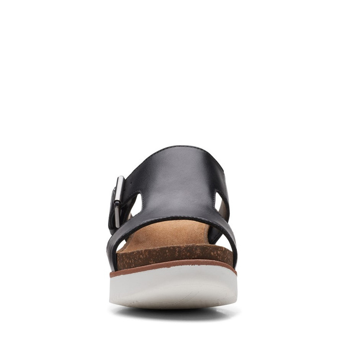 Clarks Womens Lizby Ease Black Leather