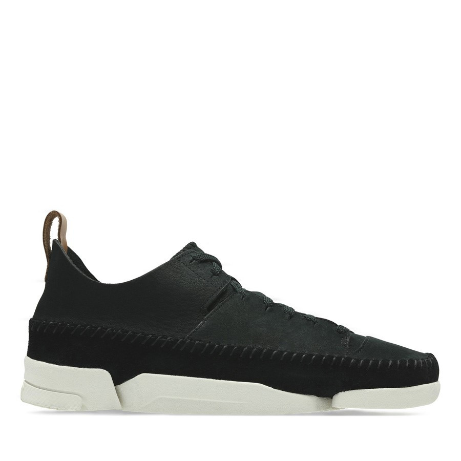 Clarks Trigenic Flex Womens Black Nubuck