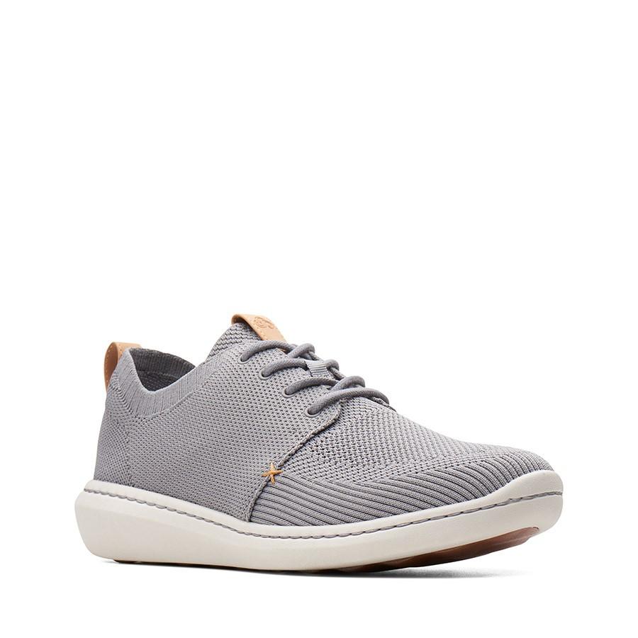 Clarks Step Urban Mix Grey Textile Knit